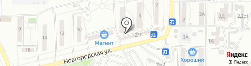 Любимый Хуторок на карте Красноярска