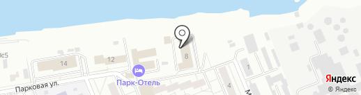 Бастион на карте Красноярска