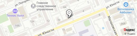Мастерская по ремонту обуви и изготовлению ключей на карте Красноярска