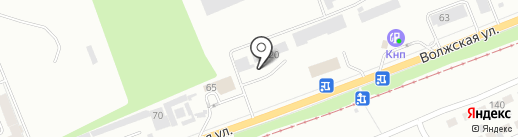 Красноярский центр рессорного оборудования на карте Красноярска