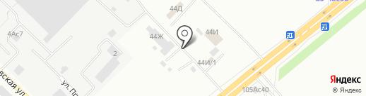 Пункт приема металлолома на карте Красноярска