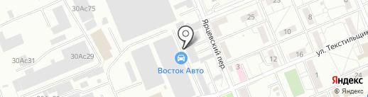 Lazzat на карте Красноярска