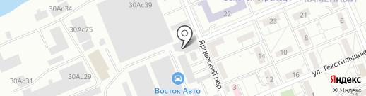 Брутс на карте Красноярска