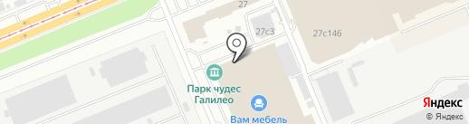 Мебельная Мануфактура 24 на карте Красноярска