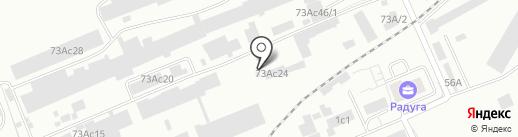 ЭЛТЭКС на карте Красноярска