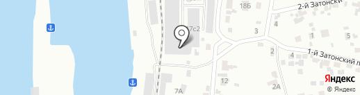Норд-Ойл на карте Красноярска