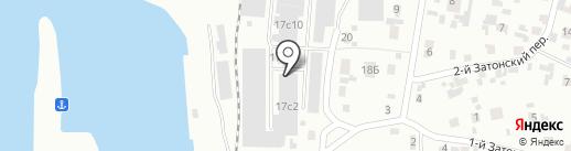 Андромеда на карте Красноярска