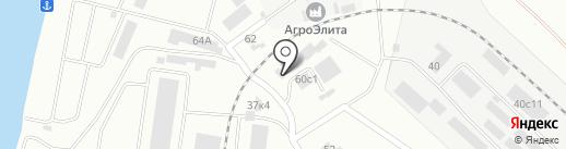 ЯрКо на карте Красноярска