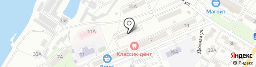Телекомсервис на карте Красноярска