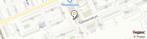 Северная рыба на карте Красноярска
