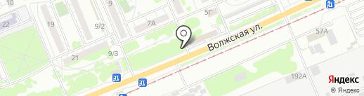 RazoomOFF на карте Красноярска