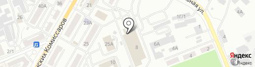 Лариса на карте Красноярска