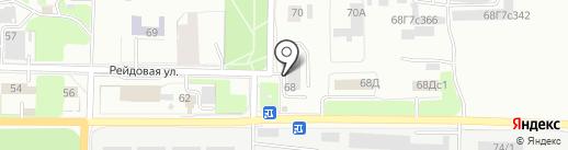 Гефест-онлайн на карте Красноярска