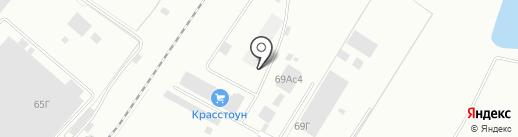 А1 на карте Красноярска