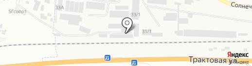 Столярная мастерская на карте Березовки