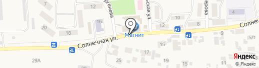 Радуга на карте Березовки