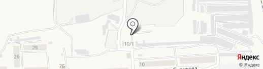 Автостоянка на карте Березовки