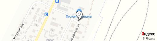 Викмарк на карте Березовки