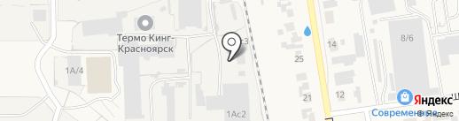 ФауБеХа-Сиб на карте Березовки