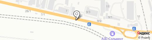 Магазин автозапчастей для ВАЗ на карте Березовки