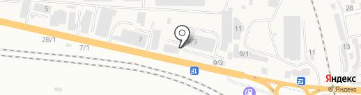 Цезарь на карте Березовки