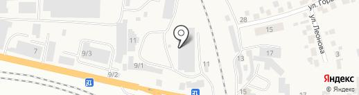 РЭС на карте Березовки