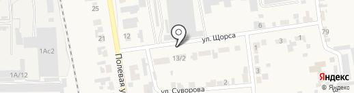 homma на карте Березовки