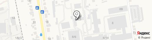 КСК-Уют на карте Березовки