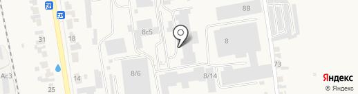Металломастерская на карте Березовки