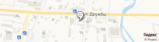 У Ксюши на карте Березовки