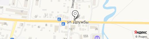 Афина на карте Березовки