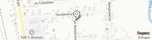 Luxe на карте Березовки