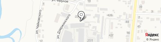 Красноярская Региональная Энергетическая Компания на карте Березовки