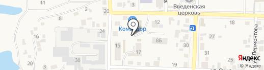Иголочка на карте Березовки