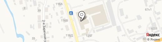 Нильс на карте Березовки