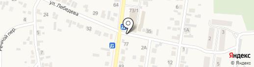 Мирцана на карте Березовки