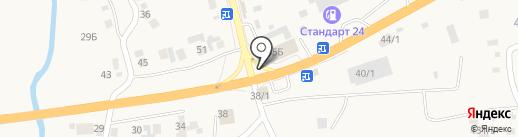 Заповедная вода на карте Березовки