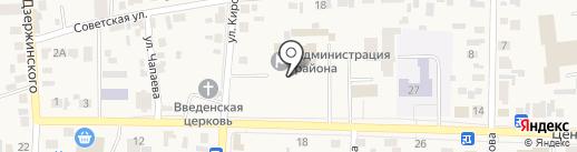 Ростелеком, ПАО на карте Березовки