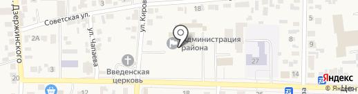 Ростелеком на карте Березовки