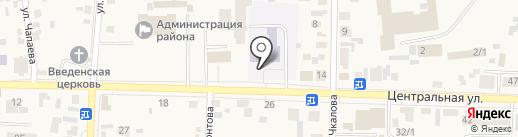Миллениум на карте Березовки