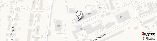 Бытхим на карте Березовки