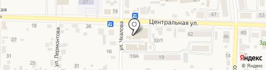 Оптика на карте Березовки