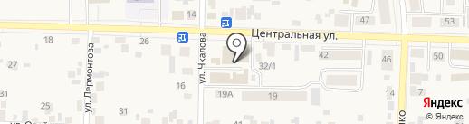 Дверной ряд на карте Березовки
