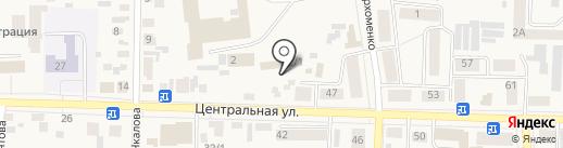 Конкорд на карте Березовки