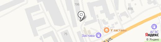 Суфудэ на карте Березовки