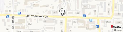 Вел`Дента на карте Березовки