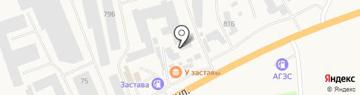 Торговая компания на карте Березовки