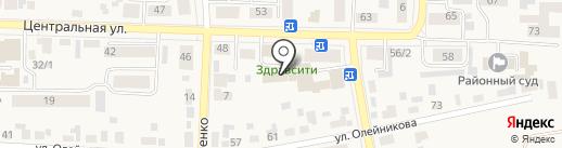 Банкомат, Восточно-Сибирский банк Сбербанка России на карте Березовки