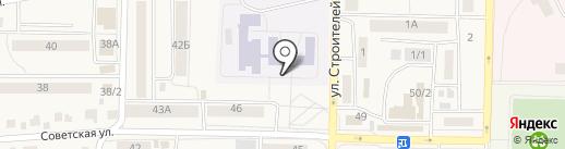 Березовская общеобразовательная школа на карте Березовки