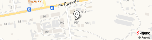 Теремок на карте Березовки